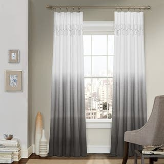blue curtains living room. Arashi Ombre Embroidery Curtain Panel Blue Curtains  Drapes For Less Overstock com