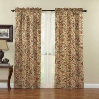 Waverly Imperial Dress Window Panel with Tie Back
