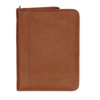 Piel Leather Zippered Padfolio (3 options available)