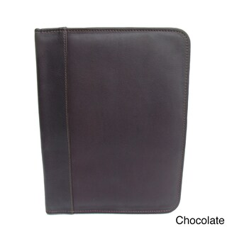 Piel Leather Three-Ring Binder