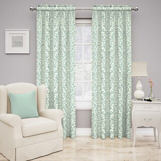 Traditions by Waverly Duncan Damask Curtain Panel