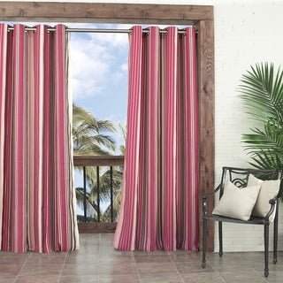 Windley Key Stripe Indoor/Outdoor Curtain Panel