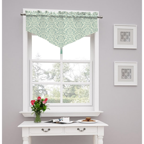 Shop Traditions By Waverly Duncan Damask Window Valance