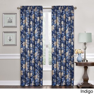 Traditions by Waverly Forever Yours Floral Curtain Panel