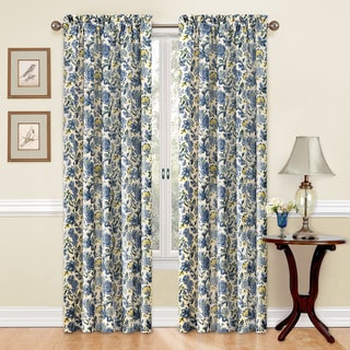 Traditions by Waverly Navarra Floral Curtain Panel