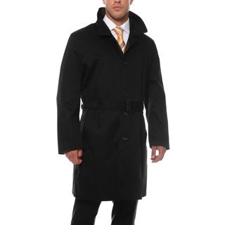 Link to Ferrecci Men's British Classic Fit Rain Resistant Urban Trench Coat Similar Items in Men's Outerwear