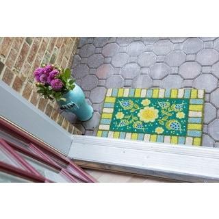 Blue Garden Non Slip Coir Doormat