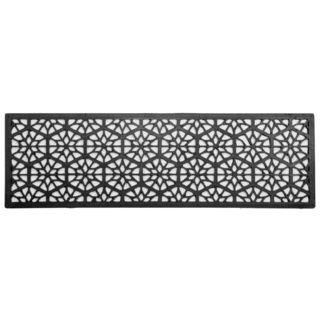 Hexagons case pack of 3 Recycled Rubber Doormat