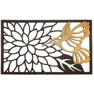 Hummingbird Recycled Rubber Doormat