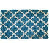 Annabelle Handwoven Coconut Fiber Doormat (1'6 x 2'6)