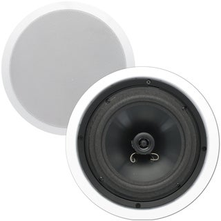Theater Solutions CS8C In Ceiling 8-inch Surround Home Theater Contractor Pair