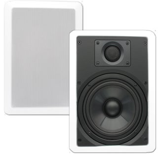 Theater Solutions Theater Solutions CS6W In Wall 6.5-inch Speakers Surround Home Theater Contractor Pair