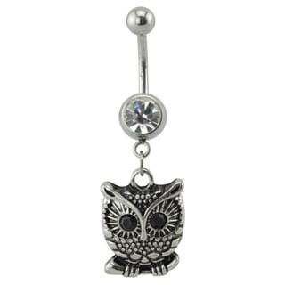 Supreme Jewelry Owl Belly Ring