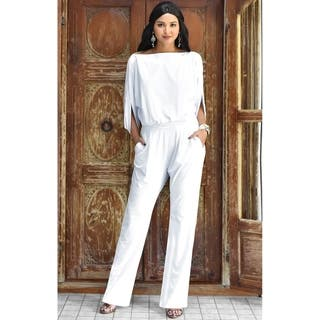 abe5bc0d65a Buy White Rompers   Jumpsuits Online at Overstock