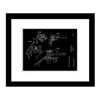 Prestige Art Studios 1836 Colt Revolver Framed Print