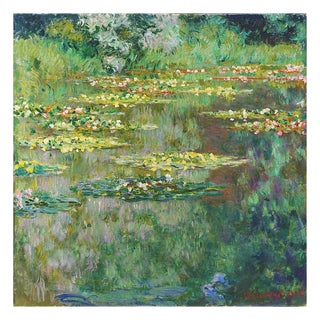 Le Bassin Des Nympheas by Claude Monet