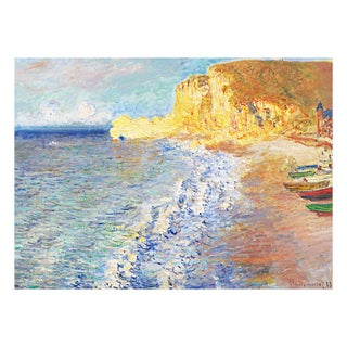 Morning in Etretat by Claude Monet