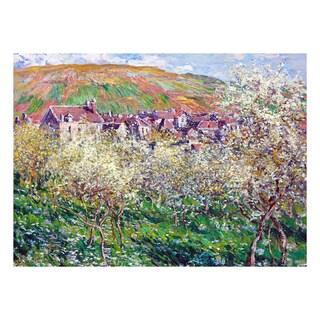 Flowering Plum Trees by Claude Monet