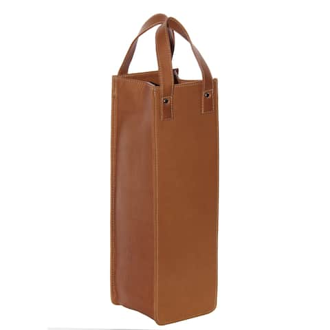 Piel Leather Single Wine Tote