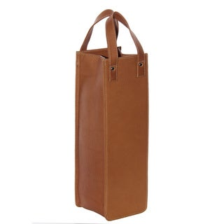 Piel Leather Single Wine Tote (3 options available)
