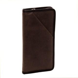 Piel Leather Vintage Executive Travel Wallet