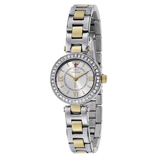 Juicy Couture Women's 1901229 Luxe Couture Two-tone Watch|https://ak1.ostkcdn.com/images/products/11004301/P18022912.jpg?_ostk_perf_=percv&impolicy=medium