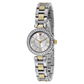 Juicy Couture Women's 1901229 Luxe Couture Two-tone Watch|https://ak1.ostkcdn.com/images/products/11004301/P18022912.jpg?impolicy=medium
