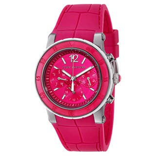 Juicy Couture Women's 1900897 HRH Stainless Steel and Rubber Watch|https://ak1.ostkcdn.com/images/products/11004305/P18022916.jpg?impolicy=medium