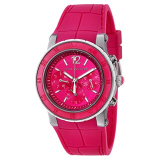 Juicy Couture Women's 1900897 HRH Stainless Steel and Rubber Watch