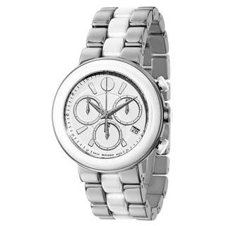 Link to Movado Women's Cerena Stainless Steel and Ceramic Watch Similar Items in Men's Watches
