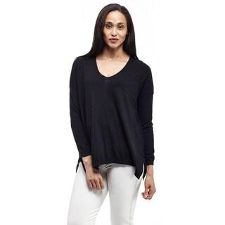 La Cera Women's Long-Sleeve Pullover Sweater