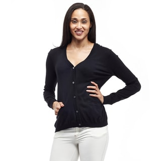 La Cera Women's Cardigan with Pockets