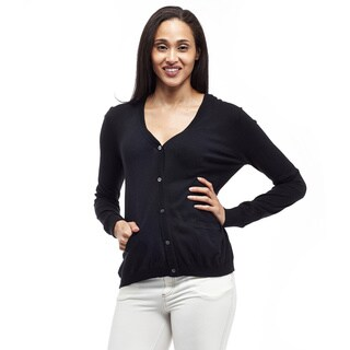 La Cera Women's Cardigan with Pockets