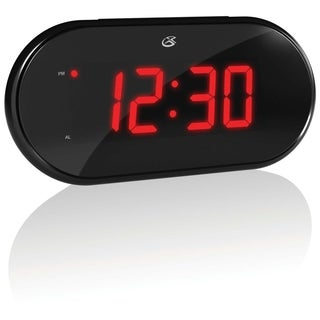 Gpx C232 Am/ Fm Clock Radio with Dual Alarms (Refurbished)