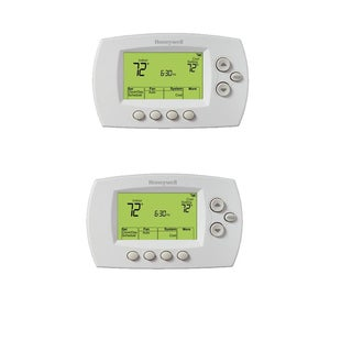 Honeywell RTH6580WF Wi-Fi 7-Day Programmable Thermostat (White 2-Pack)