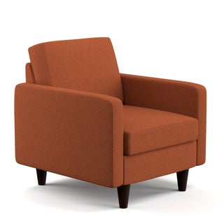 Portfolio Luca Orange Linen SoFast Chair