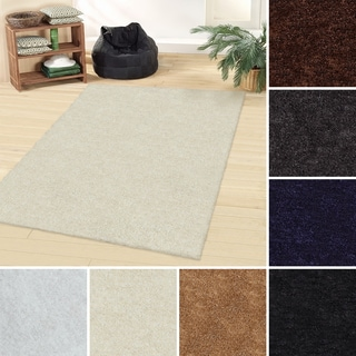 Superior Collection Hand Woven Elegant and Soft Shag Rug (5'x8') (India)
