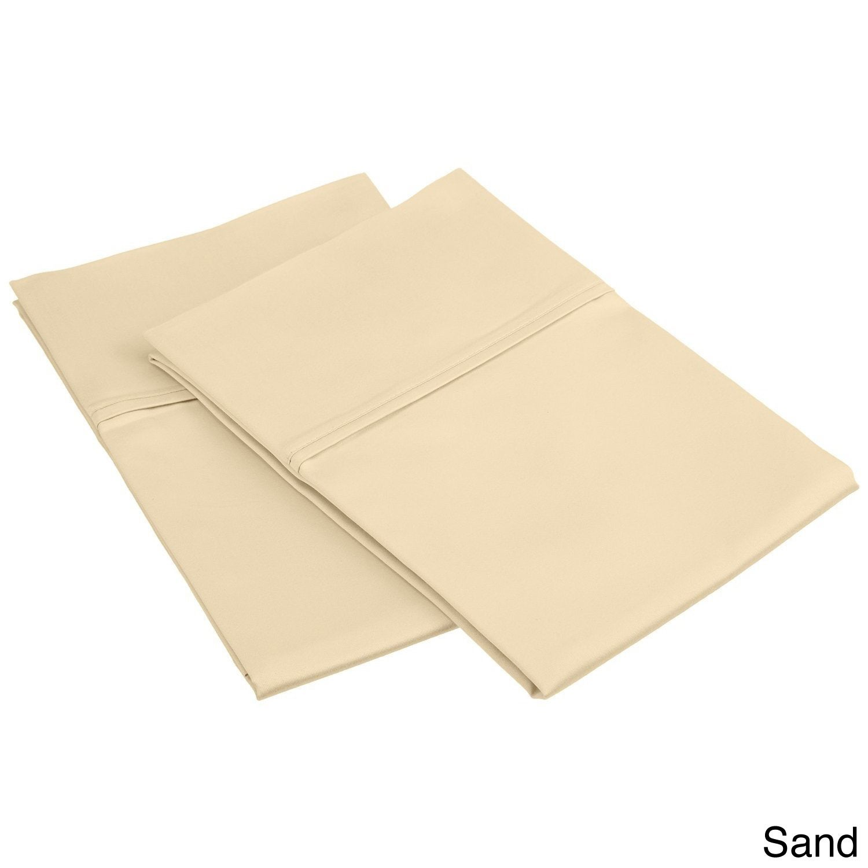 Superior 450 Thread Count Cotton Sateen Pillowcases (Set ...