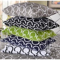 Superior 600 Thread Count Printed Cotton Blend Pillowcases (Set of 2)