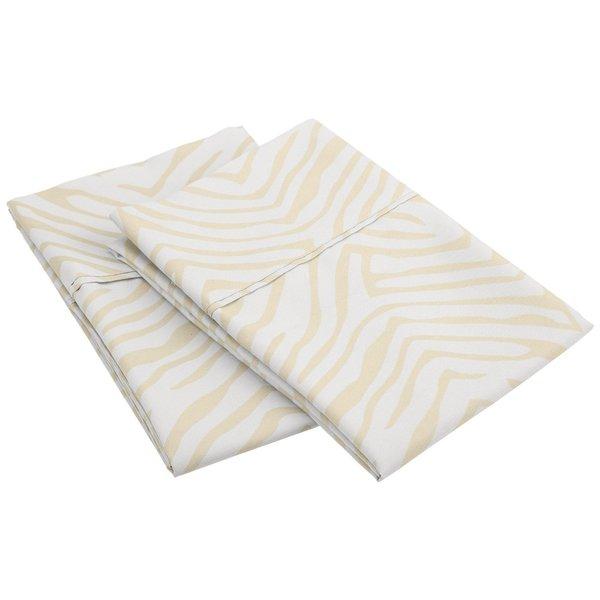 Superior Wrinkle Resistant Animal Print Microfiber Pillowcases (Set of 2)