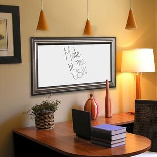American Made Rayne Antique Silver Dry Erase Board