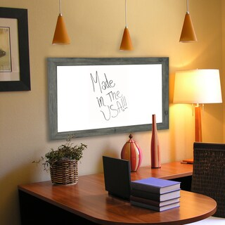 American Made Rayne Grey Dry Erase Board (More options available)