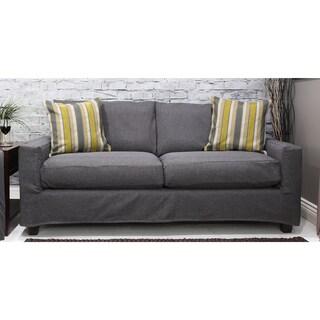 Bombay Hornell Grey Sofa Slipcover
