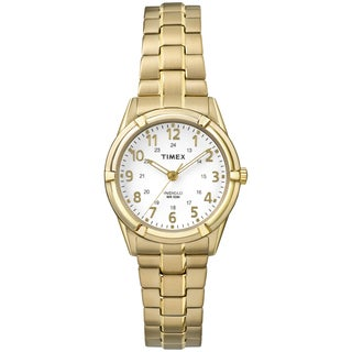 Timex Women's TW2P891009J Easton Avenue Gold-Tone Stainless Steel Expansion Band Watch