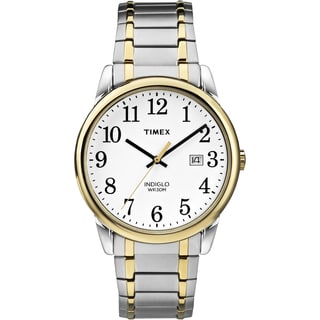 Timex Men's TW2P814009J Easy Reader Two-Tone Stainless Steel Expansion Band Watch