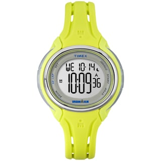 Timex Women's TW5K977009J Ironman Sleek 50 Lime Watch