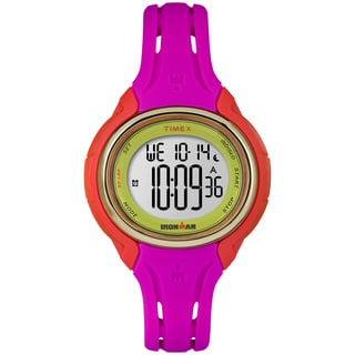 Timex Women's TW5M028009J Ironman Sleek 50 Pink Color Block Watch