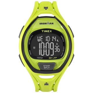 Timex Unisex TW5M017009J Ironman Sleek 50 Neon Green Watch