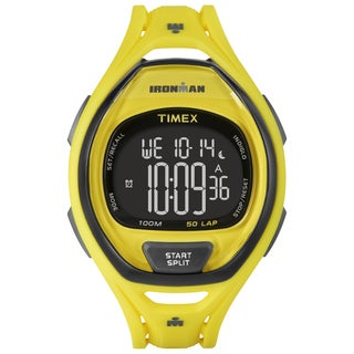 Timex Unisex TW5M018009J Ironman Sleek 50 Neon Yellow Watch