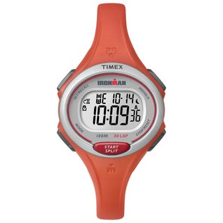 Timex Women's TW5K899009J Ironman Essential 30 Orange Watch